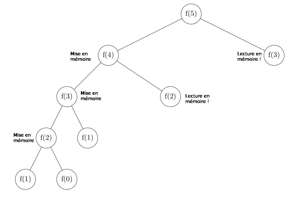 Illustration de la programmation dynamique