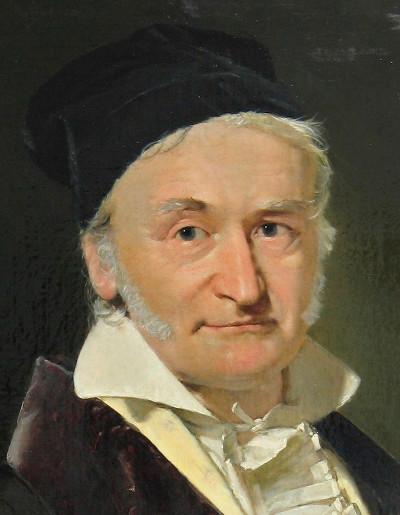 Portrait de Carl Friedrich Gauss