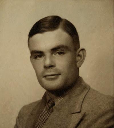 Photo d'Alan Turing