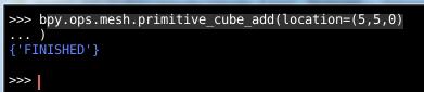 Trois cubes