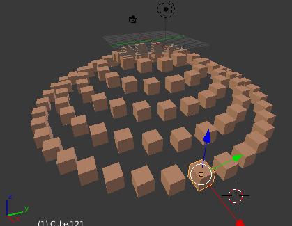 Les cubes sans matériaux