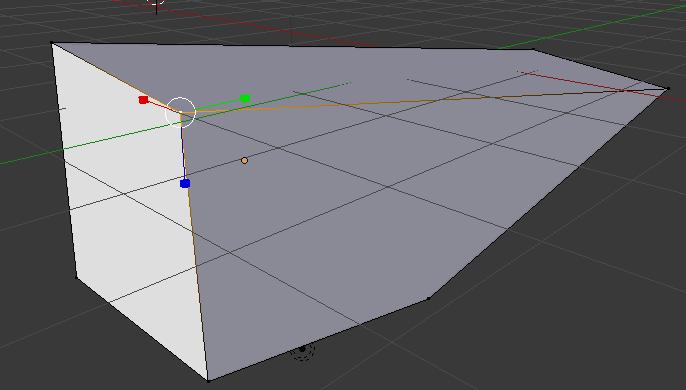 Modification de la position des vertex