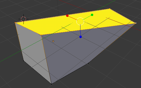 4 vertex définissent un côté(edge)
