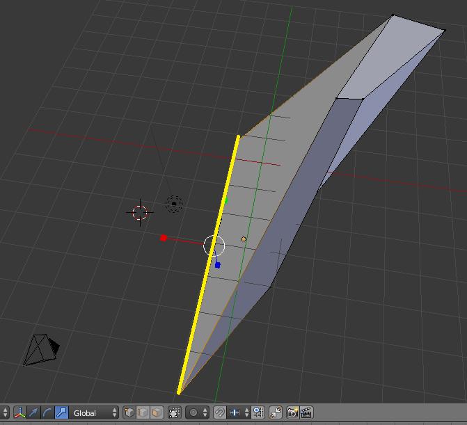 Modification via SCALE (blender 3d)