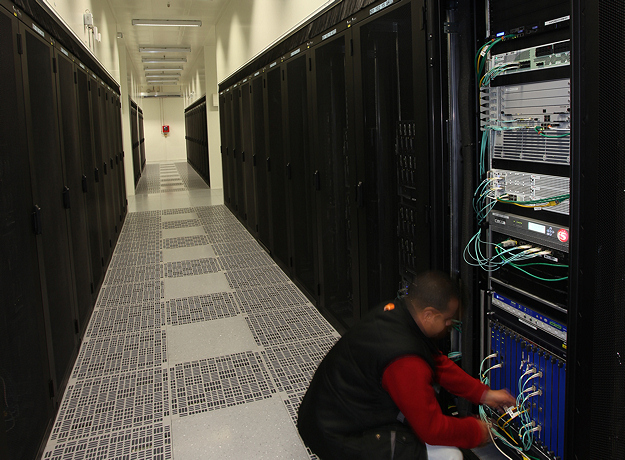 l'intérieur d'un Data Center