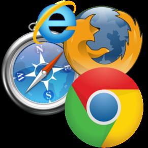 Logos des navigateurs