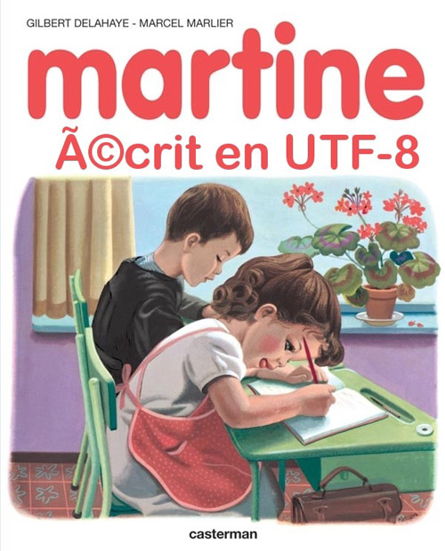 Martine, couverture UTF-8