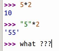 calcul bizarre
