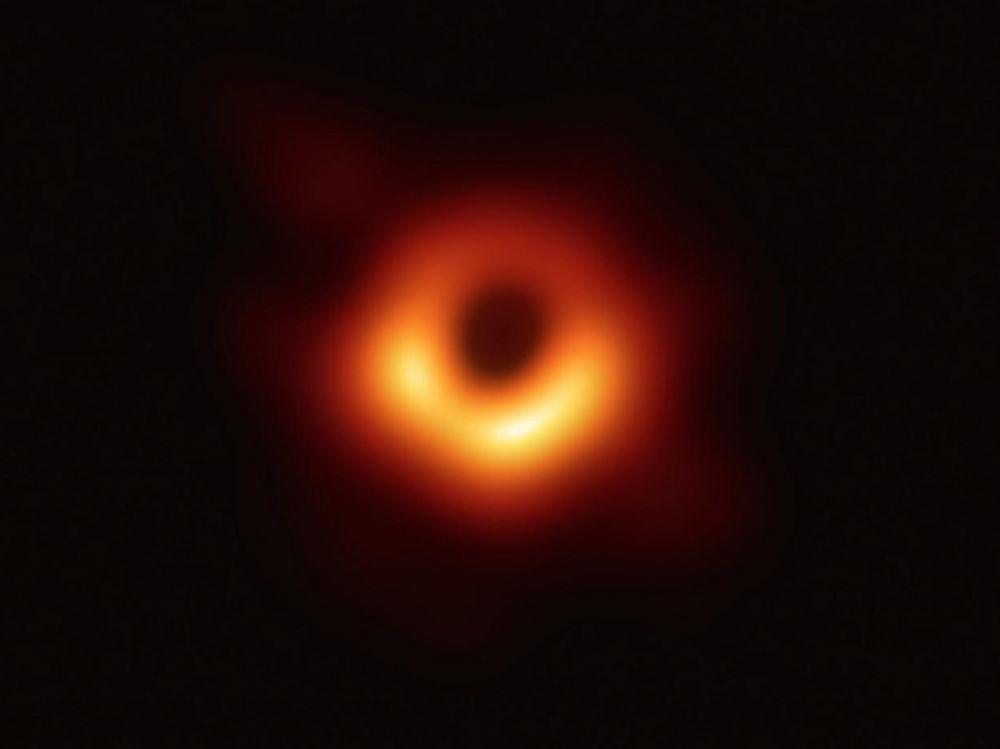 Image du trou noir